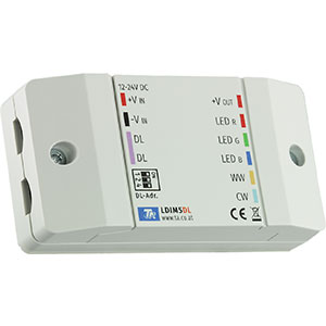 5-Kanal LED-Dimmer LDIM5-DL