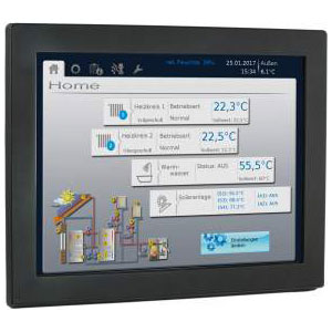 CAN-Touch Monitor in schwarz