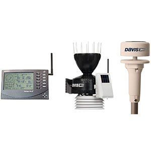 Davis Vantage Pro2 6152 Sonic Ultraschall Windmesser